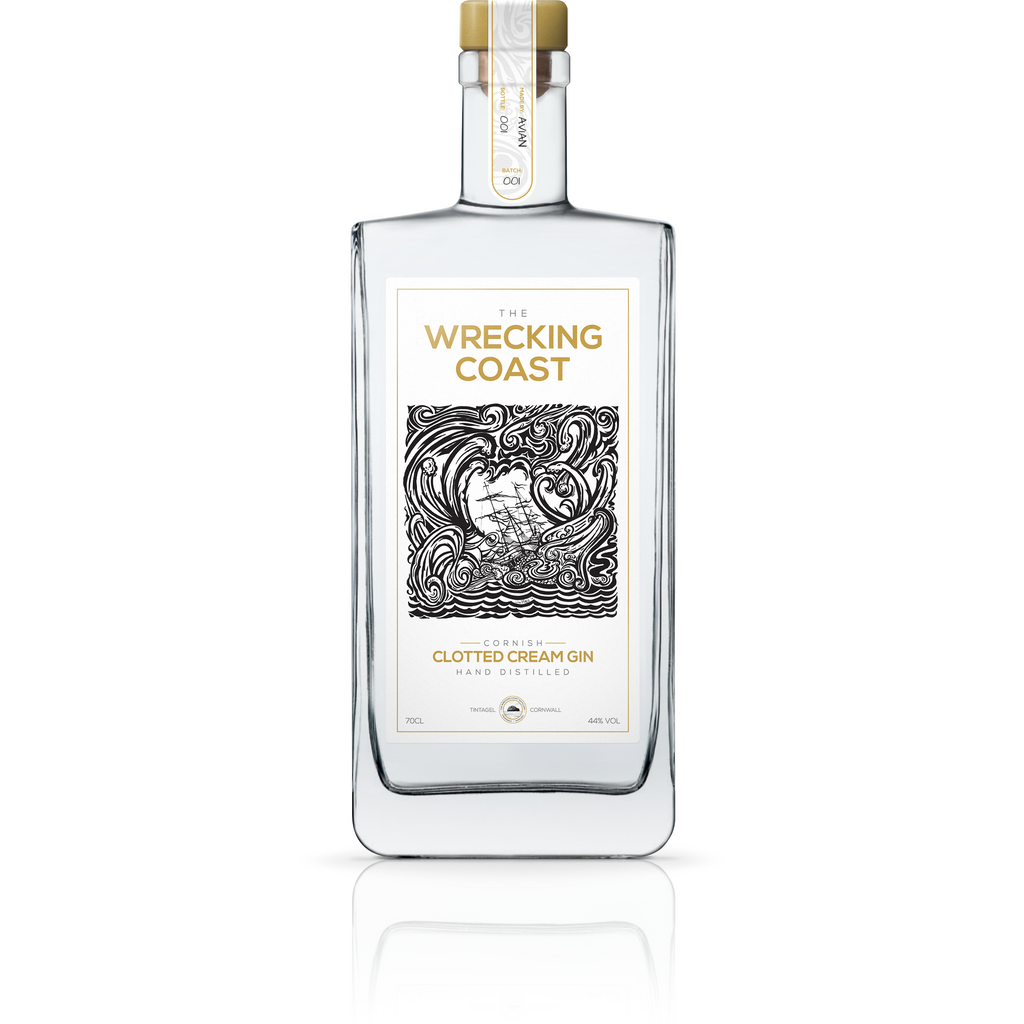 Wrecking Coast Cornish Clotted Cream Gin - 70cl