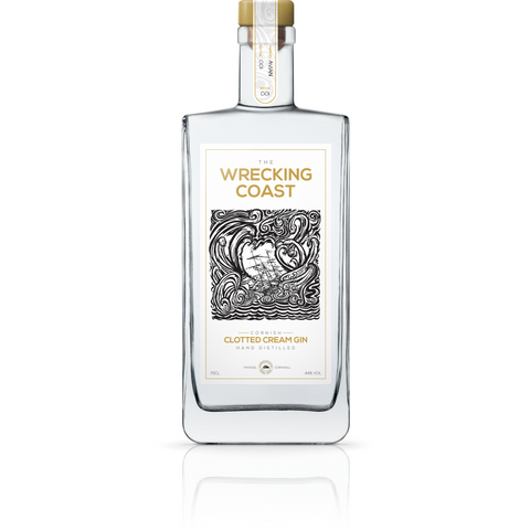 Wrecking Coast Cornish Clotted Cream Gin - 35cl