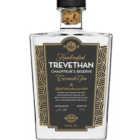 Trevethan Chauffeur's Reserve Cornish Gin - 70cl