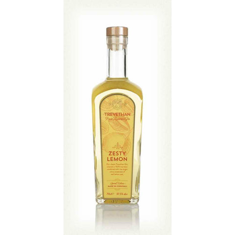 Trevethan Zesty Lemon Gin - 70cl