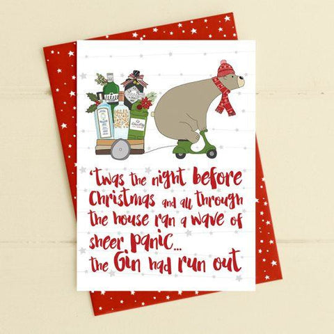 'Twas the Night before Christmas Greetings Card