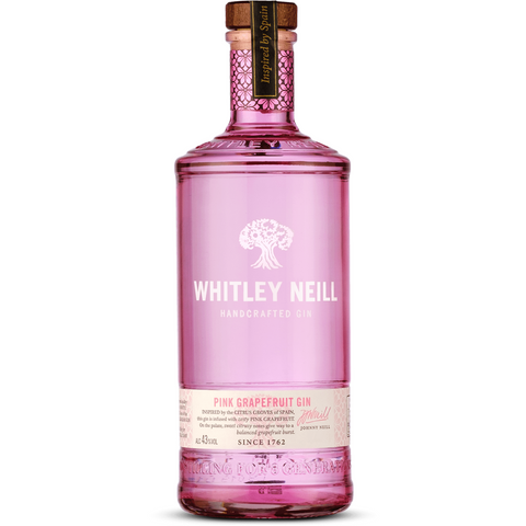 Whitley Neill Pink Grapefruit Gin - 70cl