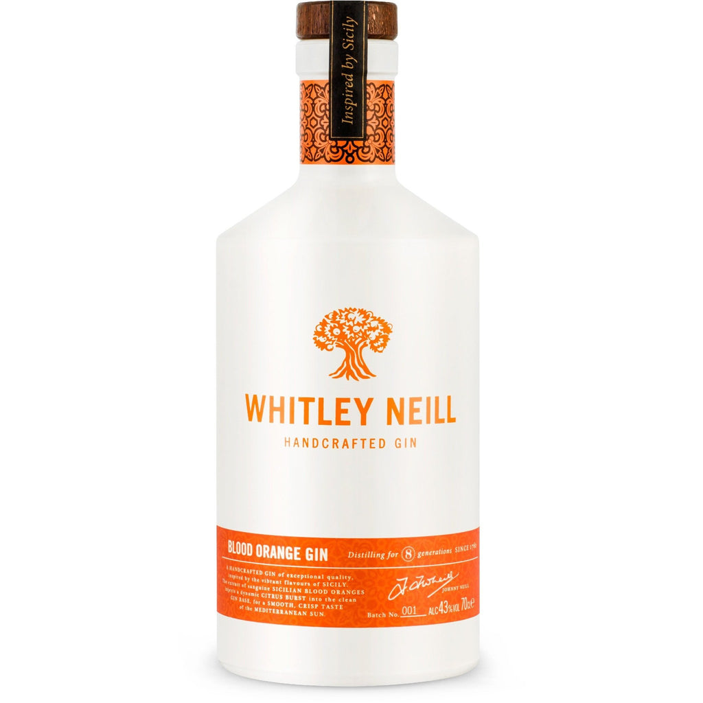 Whitley Neill Blood Orange Gin - 70cl
