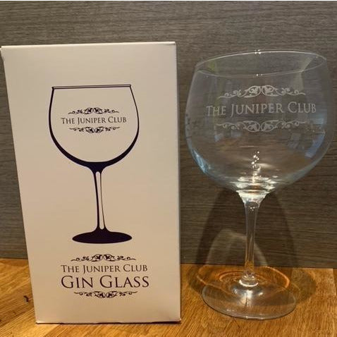 Boxed - The Juniper Club Gin Glass