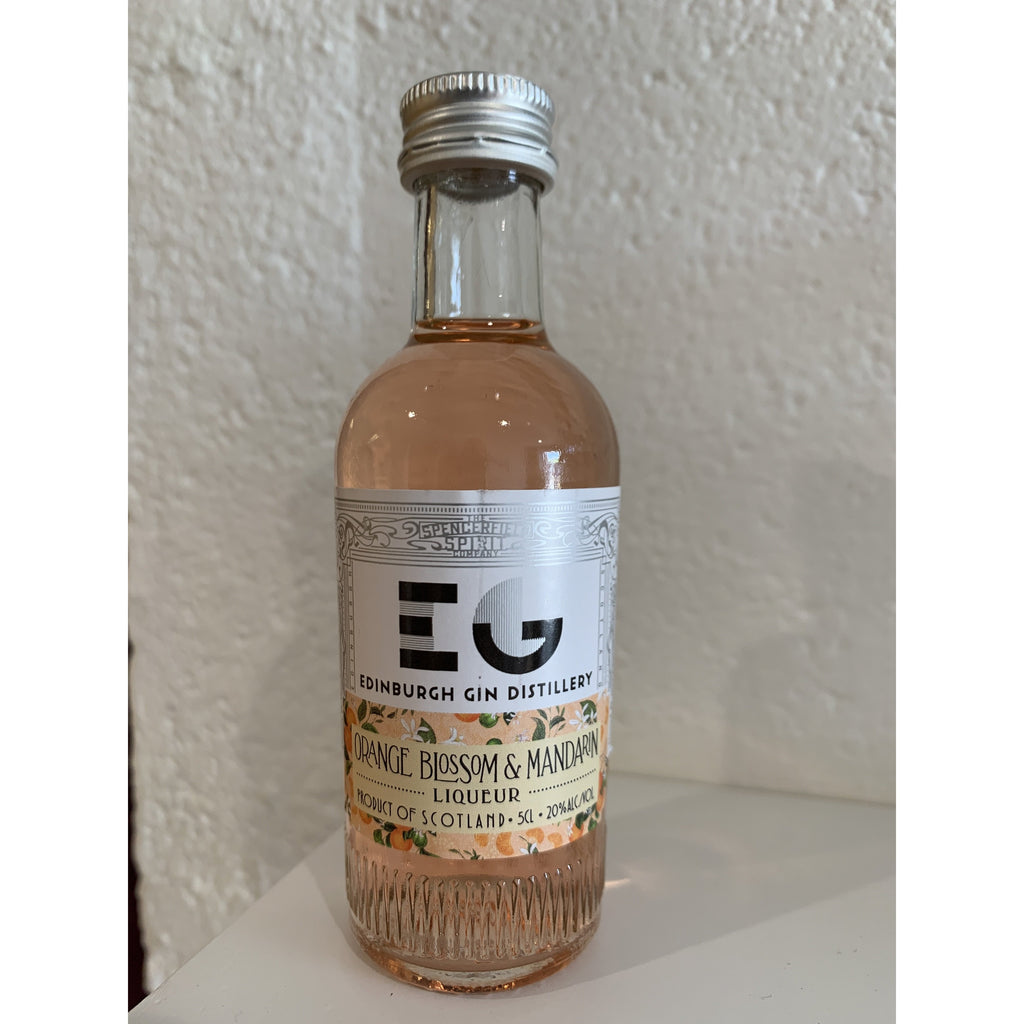 Edinburgh Gin Orange Blossom & Mandarin Liqueur Miniature - 5cl