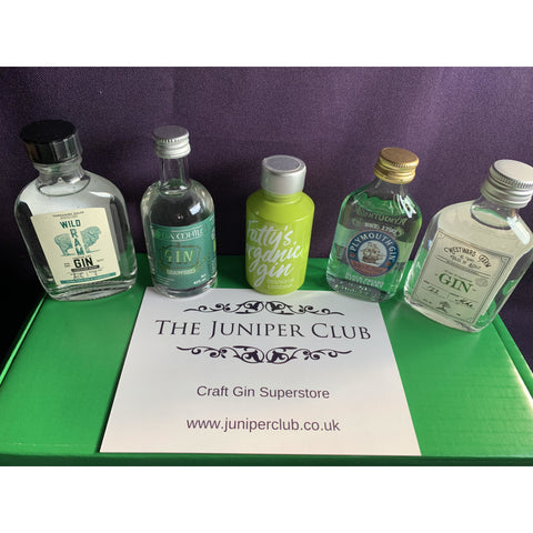 Green Gin Miniature Collection Box