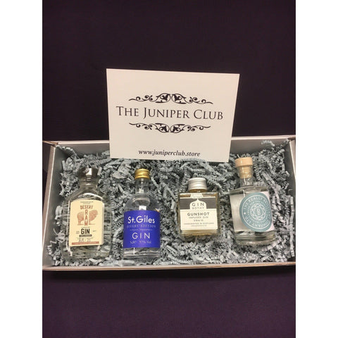 Gentleman's Miniature Gins Gift Box