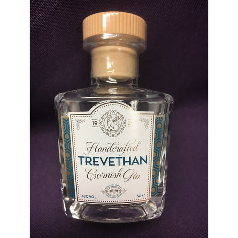Trevethan Cornish Gin Miniature - 5cl