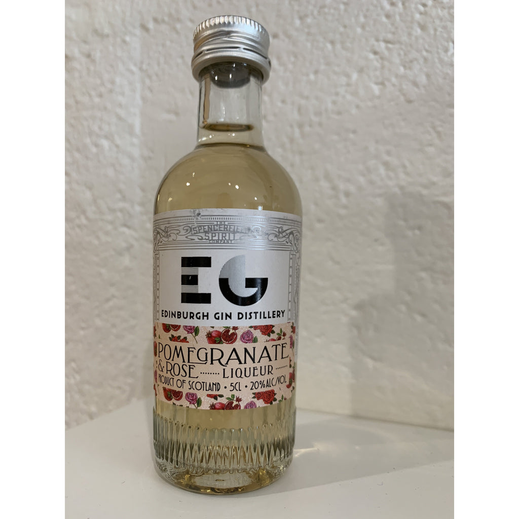 Edinburgh Pomegranate & Rose Gin Liqueur Miniature - 5cl