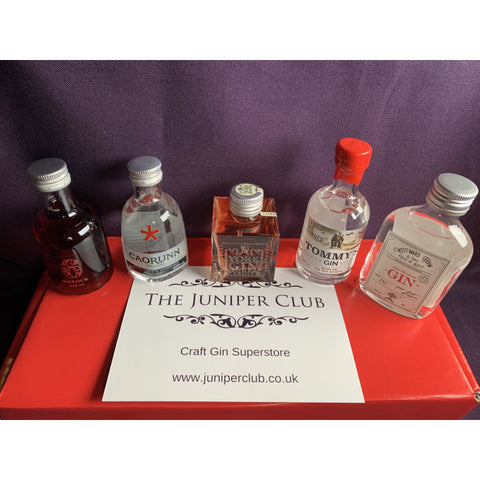 Red Gin Miniatures Collection Box