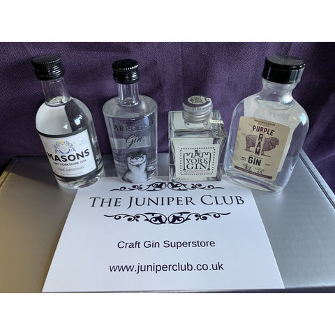 Yorkshire Gins Miniature Collection Box