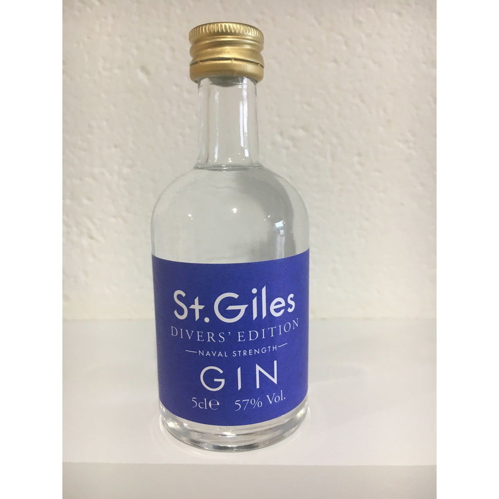 St. Giles Diver's Edition Gin Miniature - 5cl