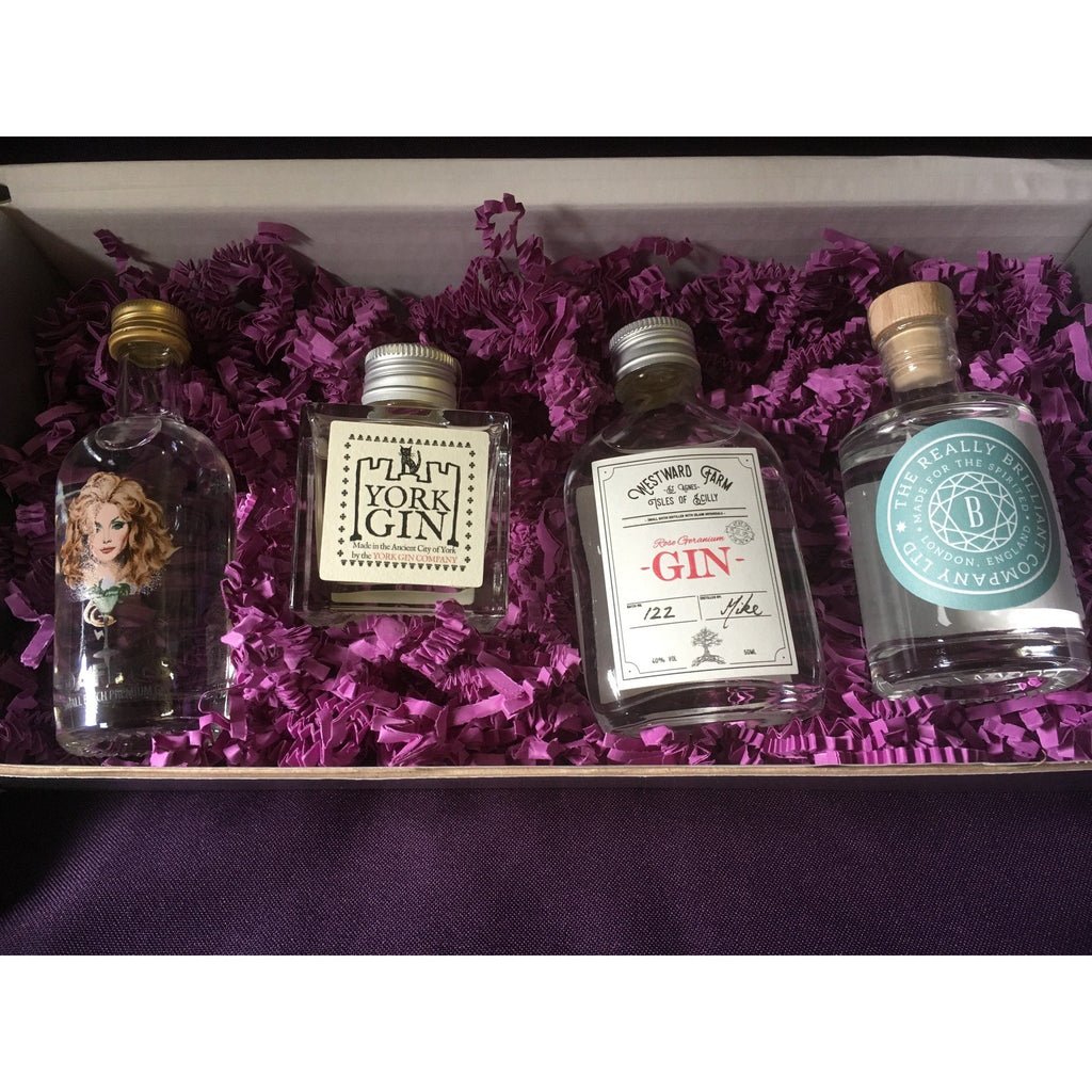 Lady's Miniature Gins Gift Box