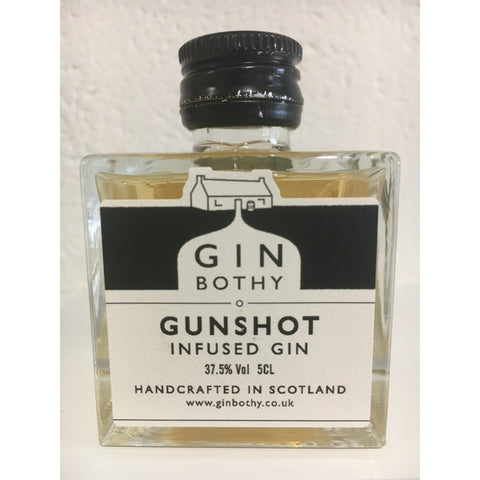 Gin Bothy Gunshot Gin Miniature - 5cl