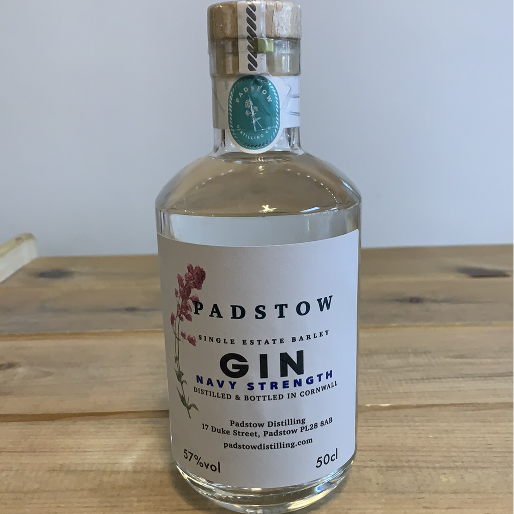 Padstow Navy Strength Gin - 50cl