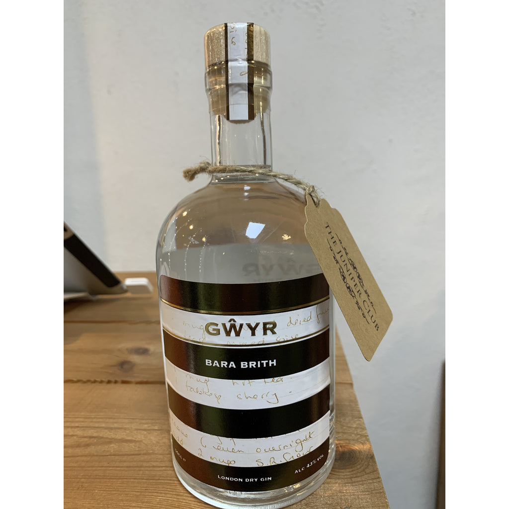 Gower Bara Brith Gin - 50cl