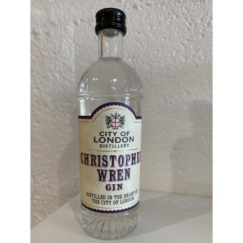 City of London Christopher Wren Gin Miniature - 5cl