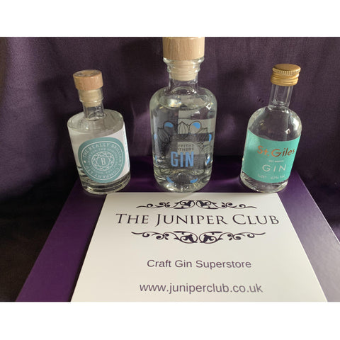 English Gins Luxury Purple Collection Box