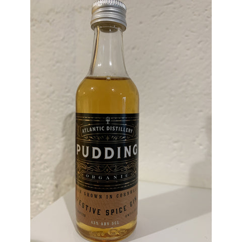 Cornish Organic Pudding Gin Miniature - 5cl