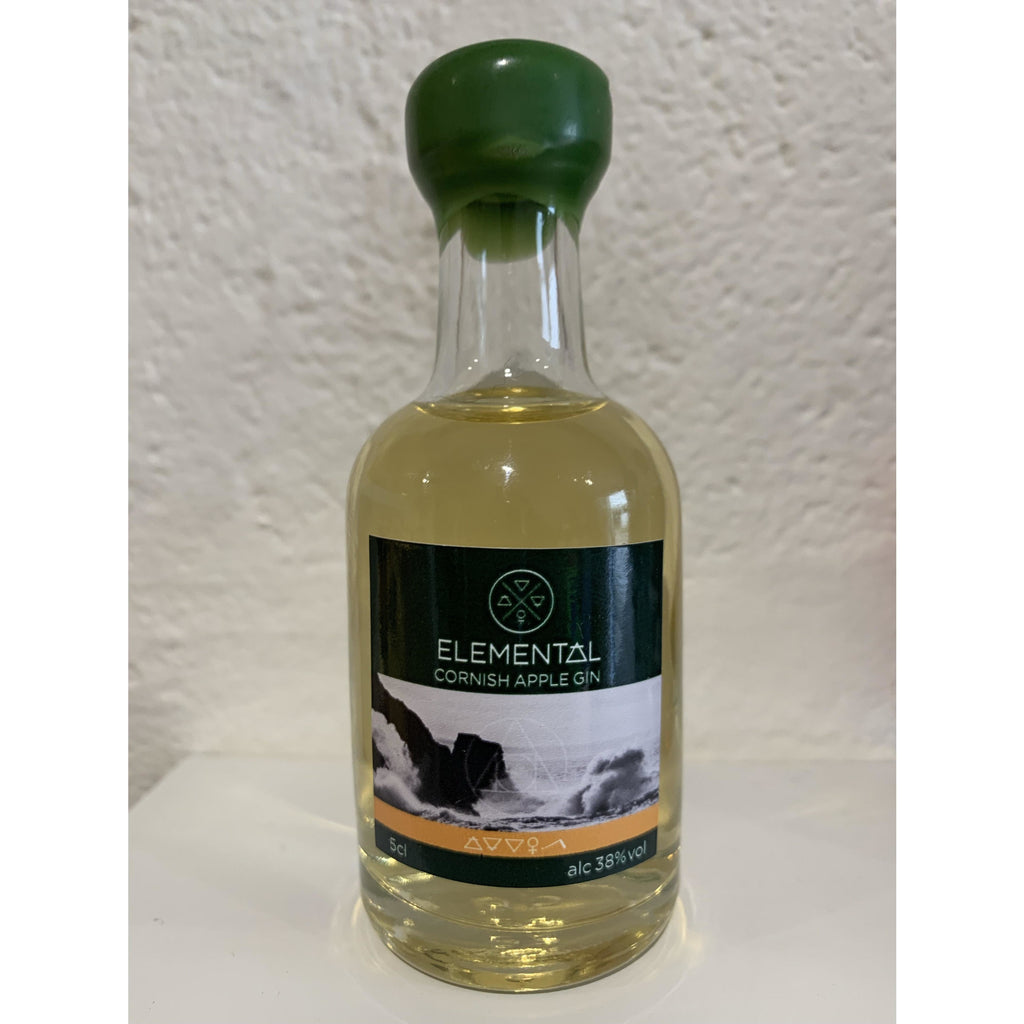 Elemental Cornish Apple Gin Miniature - 5cl
