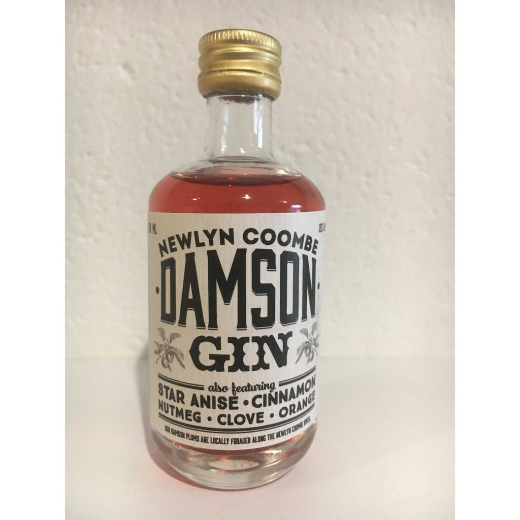 Caspyn Cornish Damson Gin Miniature - 5cl