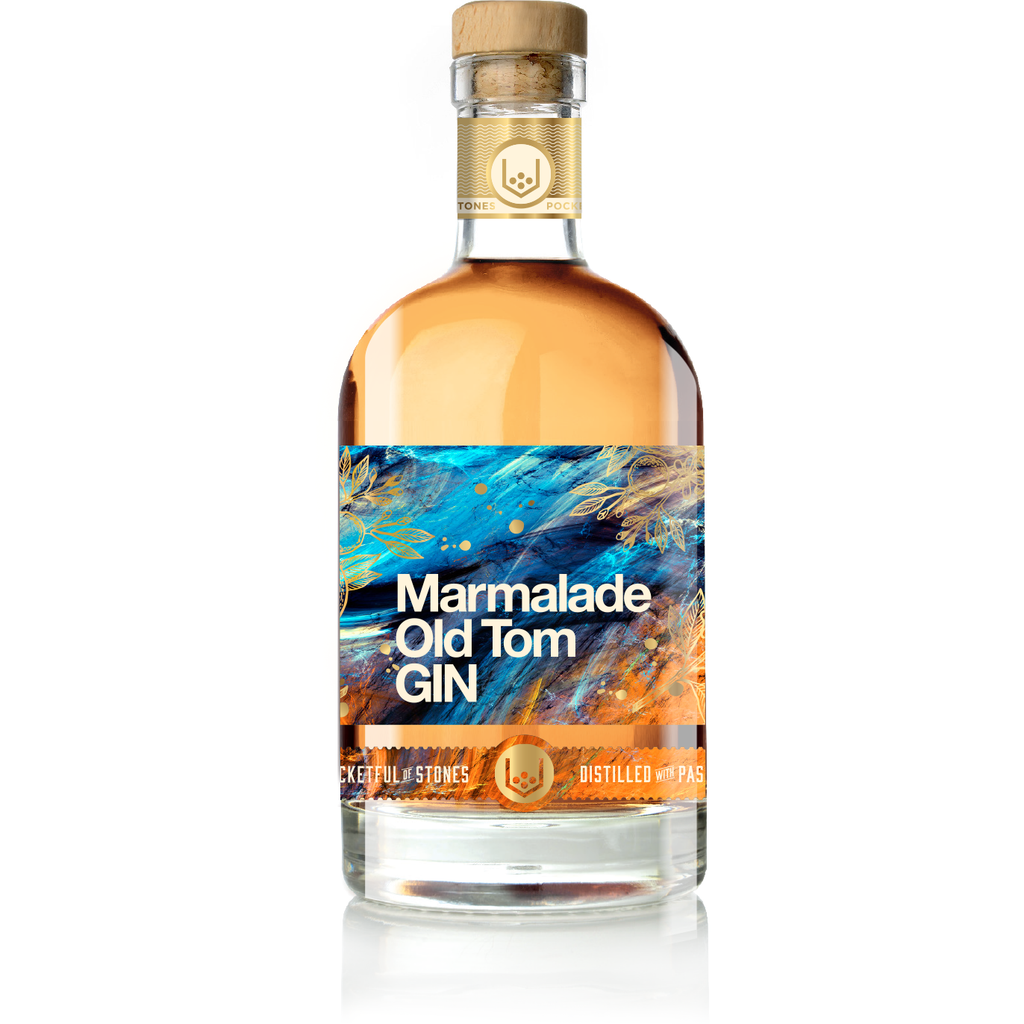 Caspyn Cornish Marmalade Old Tom Gin - 70cl
