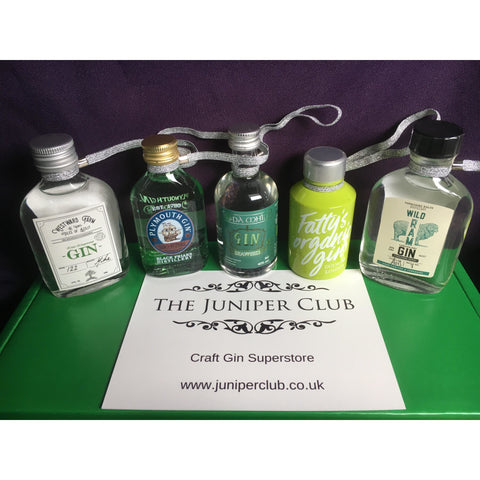 Christmas Gin Baubles - Green Box