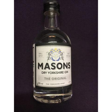 Masons Dry Yorkshire Gin Miniature - 5cl