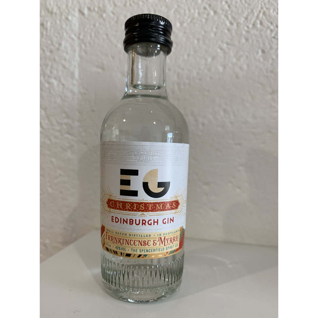 Edinburgh Gin Christmas Miniature - 5cl