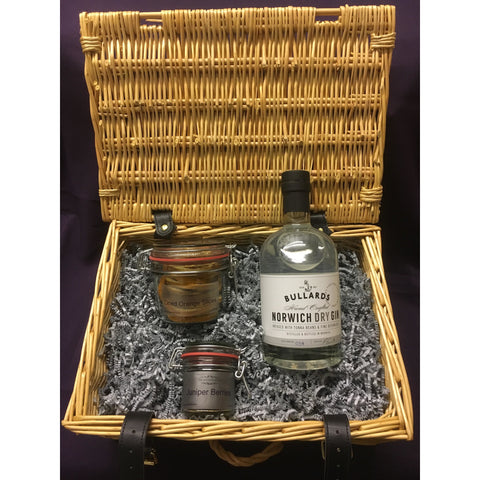 Bullards Norwich Dry Gin Hamper