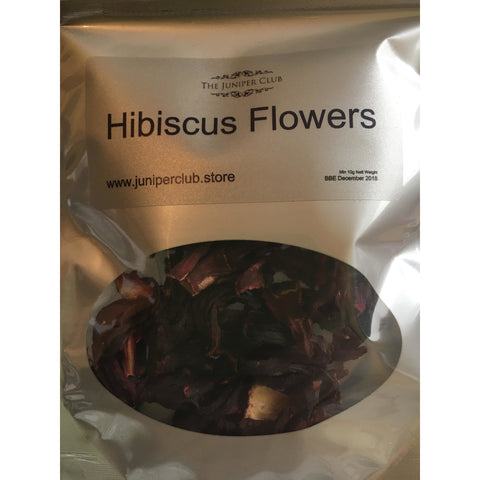 Hibiscus Flowers - Gin Garnish Pouch