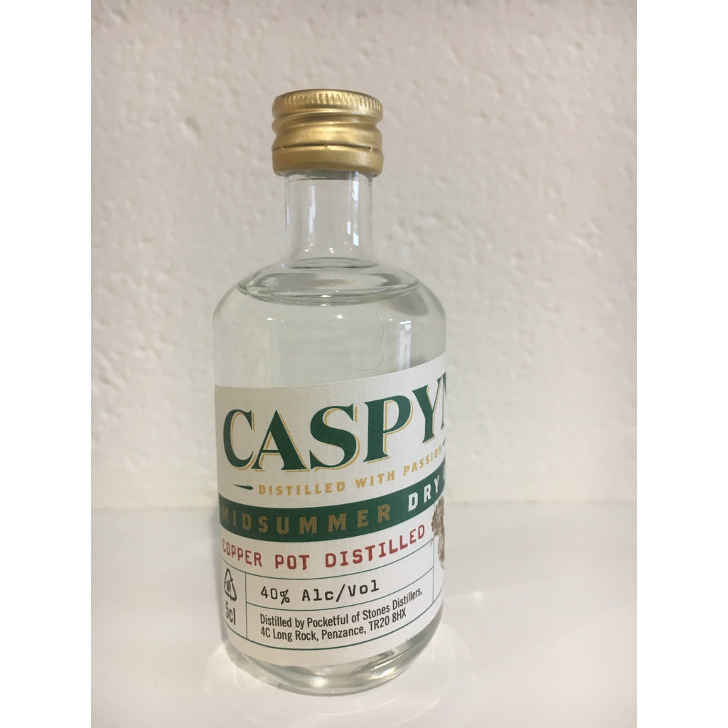 Caspyn Cornish Midsummer Gin Miniature - 5cl