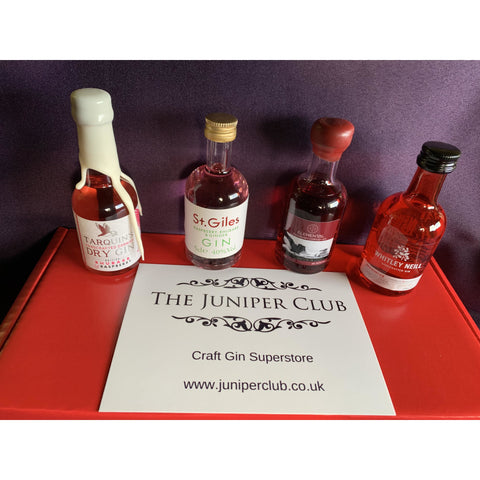 Raspberry Miniature Gins Collection Box