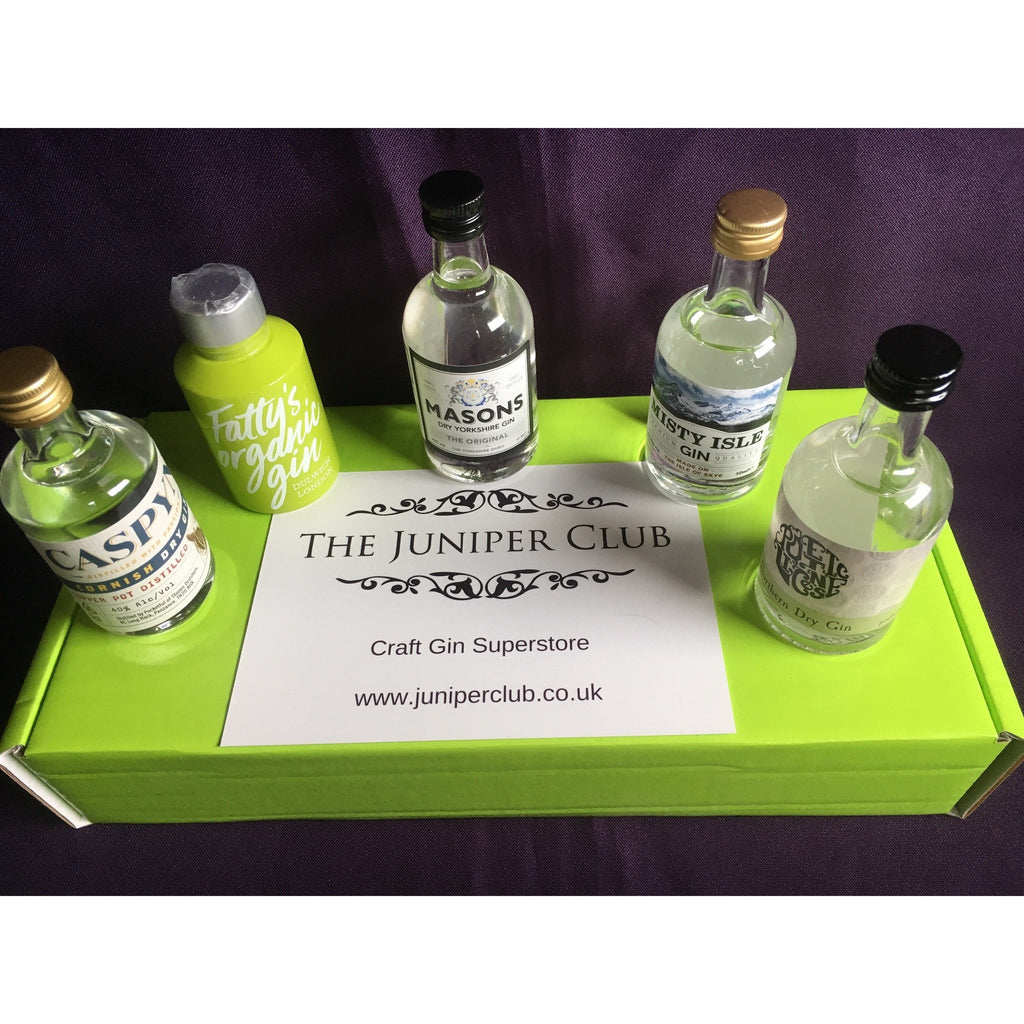 Lime Green Miniature Craft Gins Box