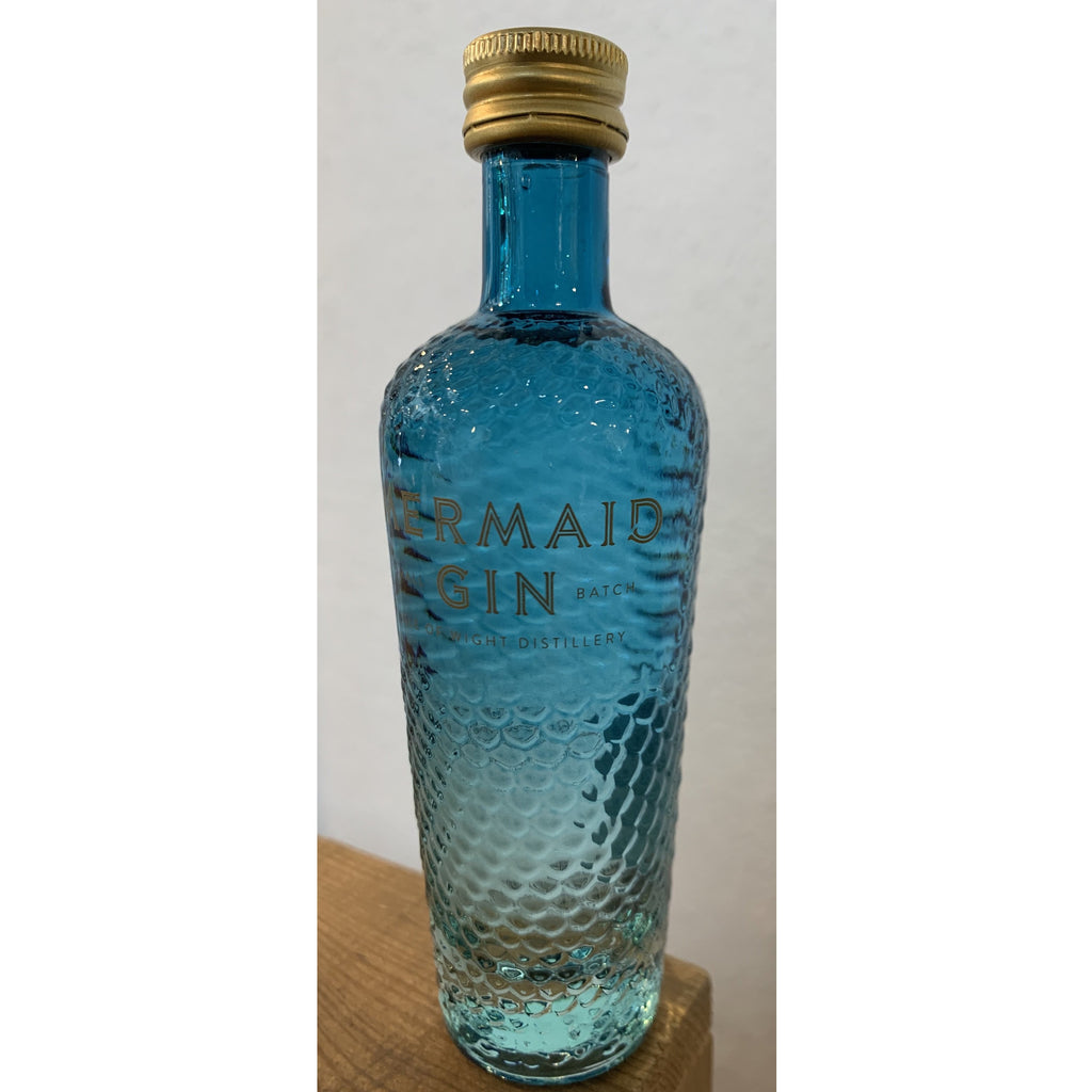 Wight Mermaids Gin Miniature - NEW BOTTLE  - 5cl