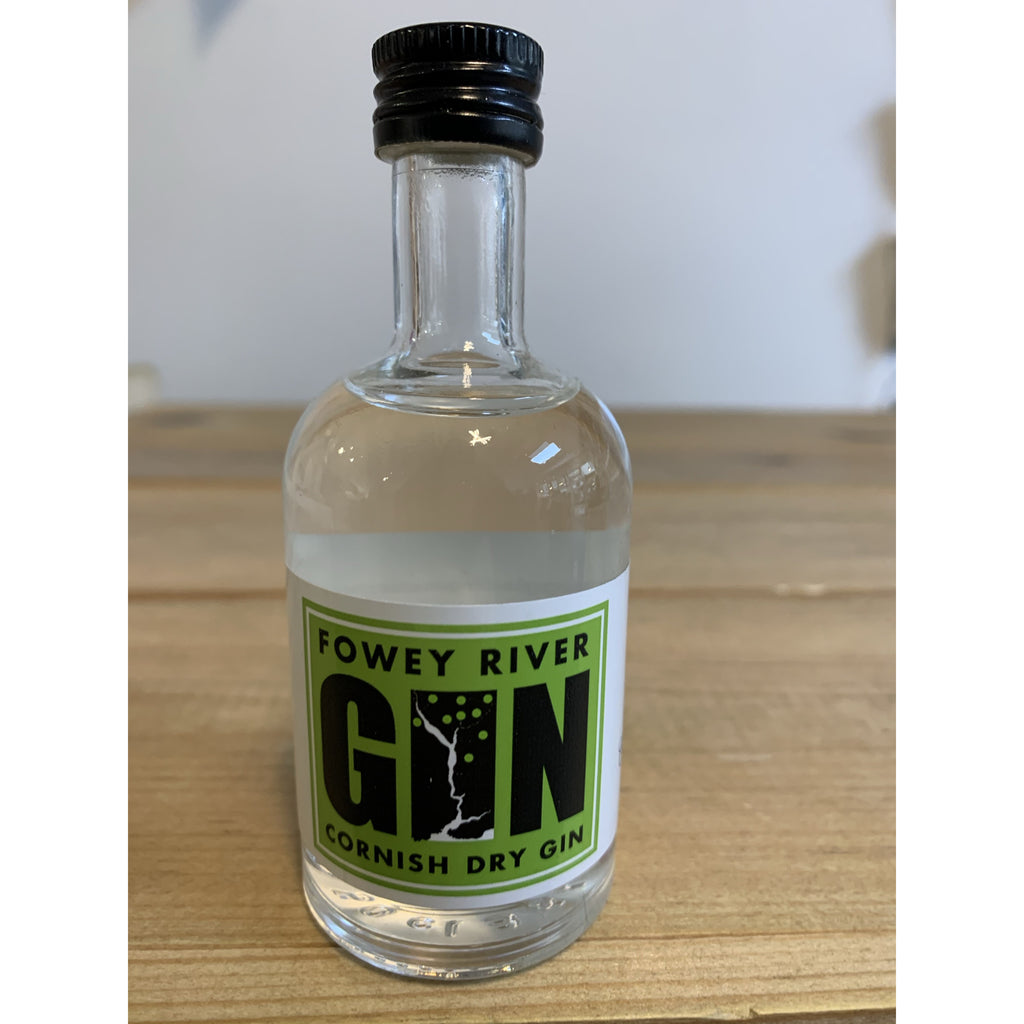 Fowey River Apple Gin Miniature - 5cl