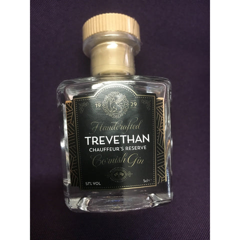 Trevethan Chauffeur's Reserve Cornish Gin Miniature - 5cl