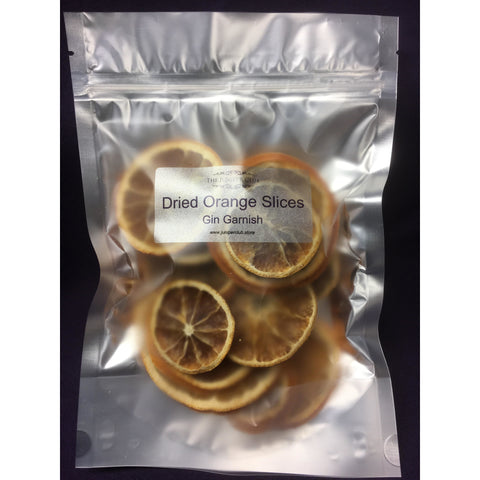 Pouch of Dried Orange Slices Gin Garnish