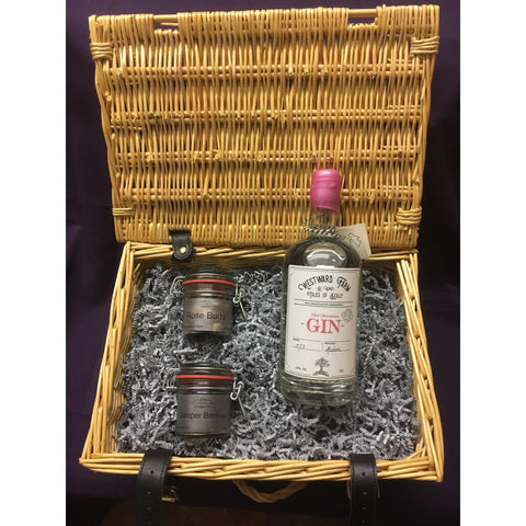 Westward Farm Rose Geranium Gin Hamper