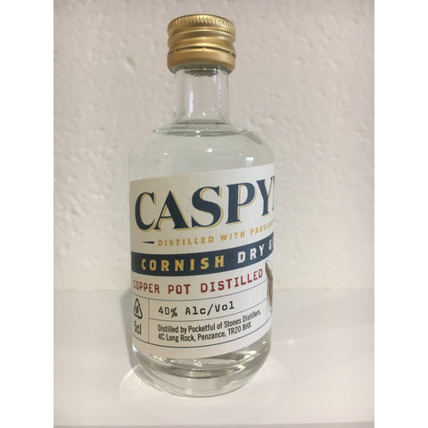 Caspyn Cornish Dry Gin Miniature - 5cl