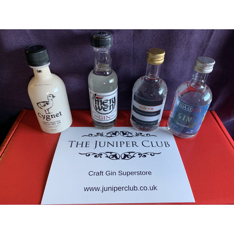Welsh Miniature Gins Collection Box
