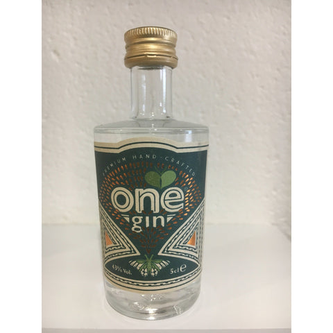 One Gin Miniature - 5cl