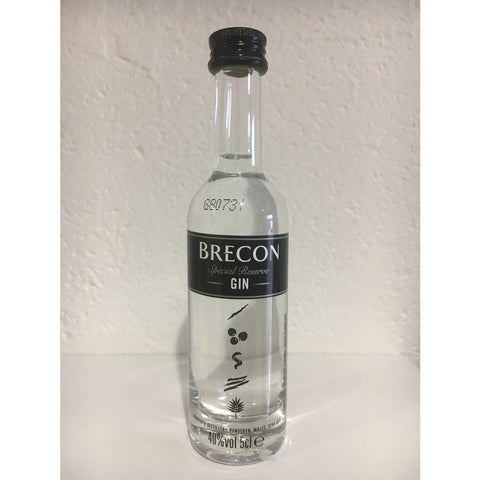 Brecon Special Reserve Gin Miniature - 5cl