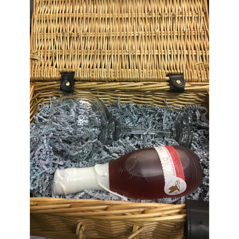 Tarquin's Rhubarb & Raspberry Cornish Gin & COPA Glass Hamper
