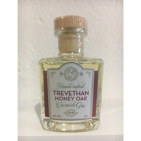 Trevethan Honey Oak Cornish Gin Miniature - 5cl