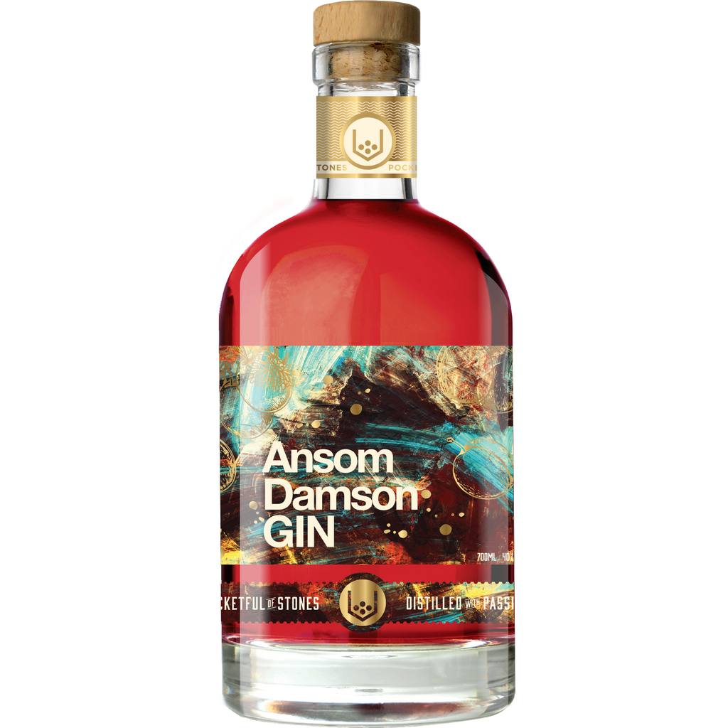 Ansom Damson Cornish Gin - 70cl