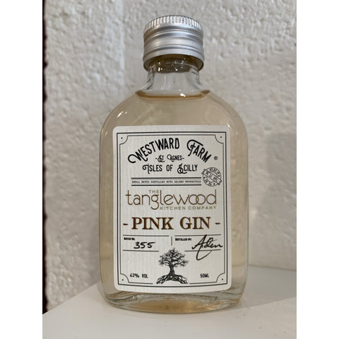 Westward Farm Tanglewood Pink Gin Miniature - 5cl