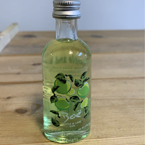 Boe Apple & Lime Gin Miniature - 5cl