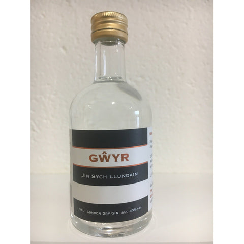 Gower Gwyr Gin Miniature - 5cl