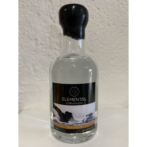 Elemental Cornish Gin Miniature - 5cl